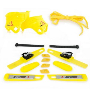 Seba FR Custom Kit (Yellow) - 2011